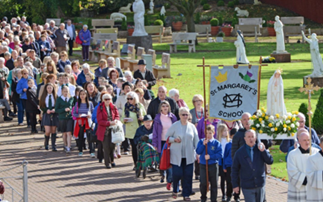 Vincentian values bring the crowds to Carfin for 400th anniversary Mass