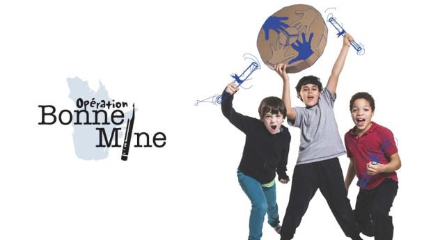 """In Quebec (Canada), the SSVP Encourages the Students to Stay in School with """"Opération Bonne Mine"""""""