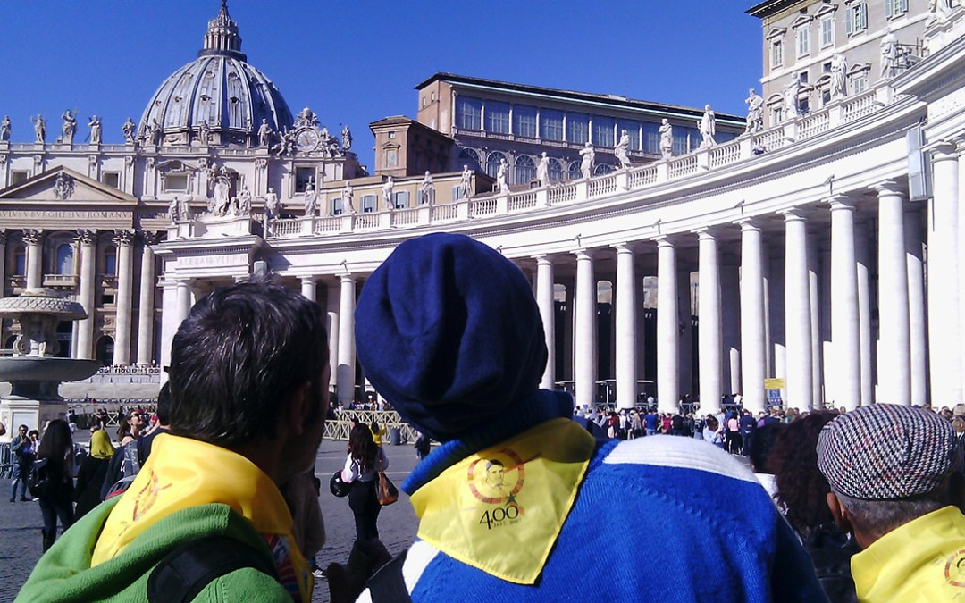 """The """"Charity"""" of Turin at the Vincentian Symposium in Rome"""