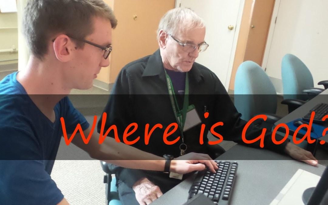 "A Vincentian asks, ""Where is God?"""