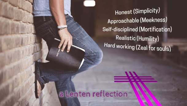Working For the Credibility of the Gospel During Lent