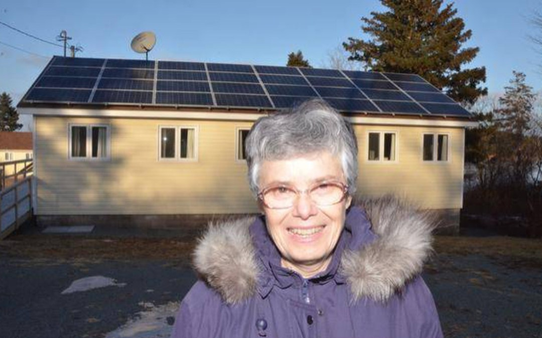 Installation of Solar Panels at the Sisters of St. Martha in Nova Scotia