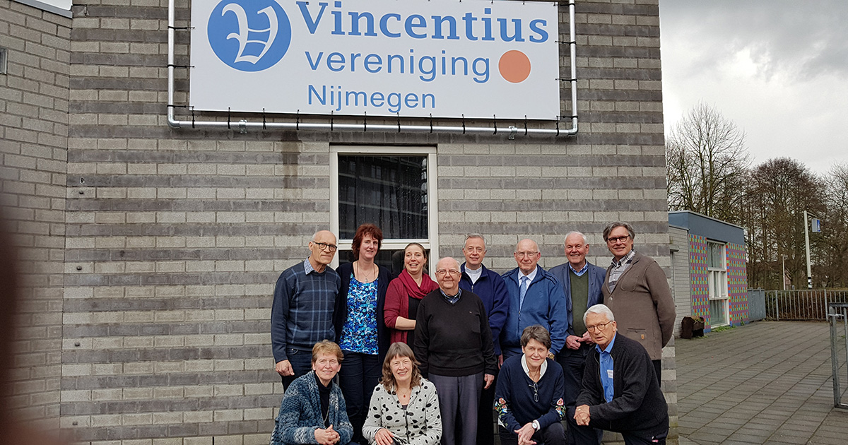 Superior General Visits Vincent de Paul Center, The Netherlands