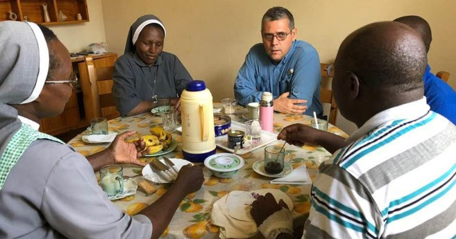 Fr. Flavio from the Vincentian Family Office Visits Kenya