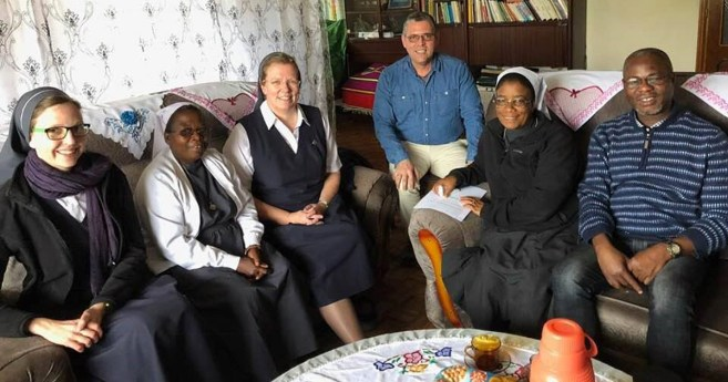 Fr. Flavio from the Vincentian Family Office Visits Ethiopia