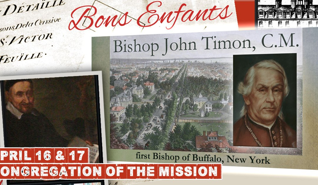 This Week in History of the Congregation of the Mission