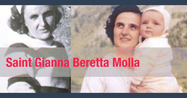 Feast Day of St. Gianna Beretta Molla