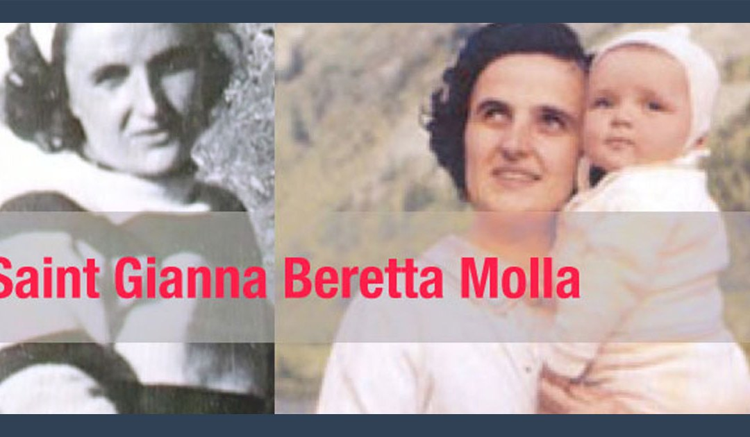 Feast Day of St. Gianna Beretta Molla