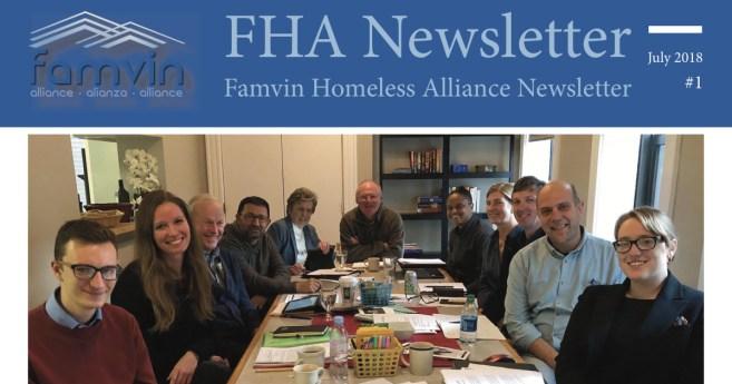 New! Famvin Homeless Alliance Newsletter