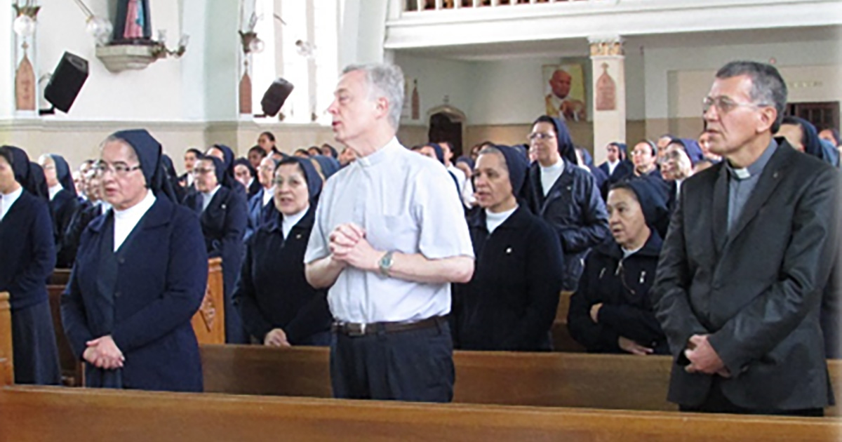 Visit of Father Tomaž Mavrič to Colombia