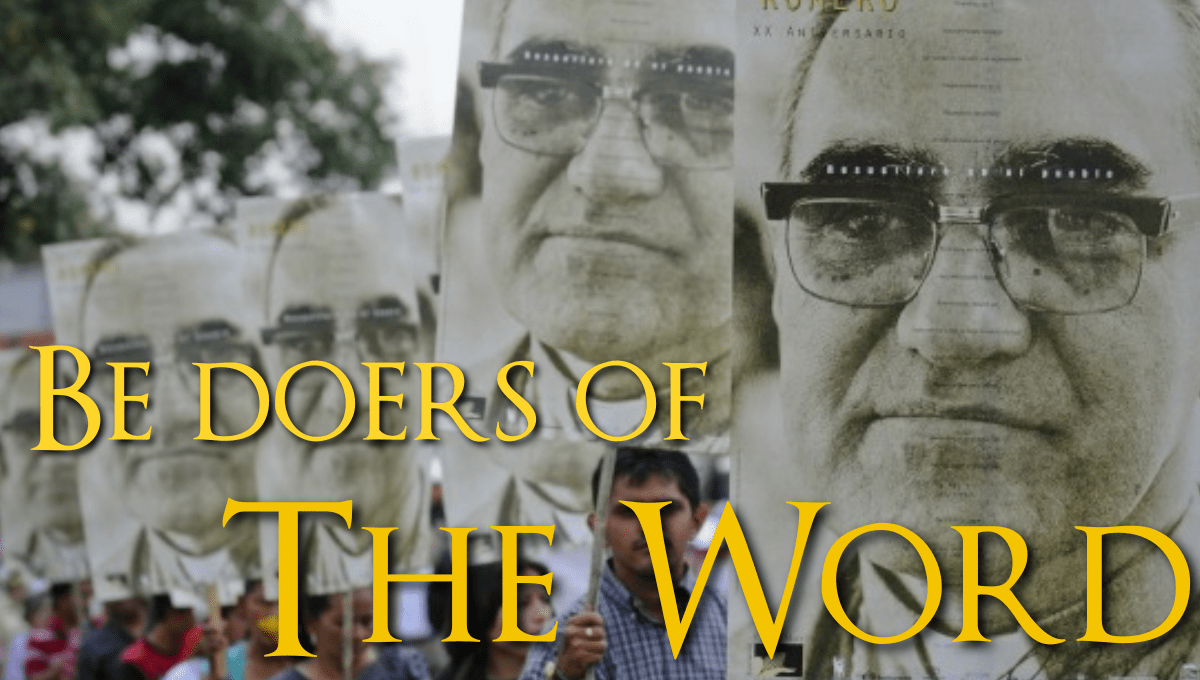 Doers of the Word: Saints Oscar Romero and Vincent de Paul