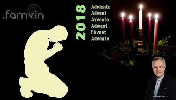 Advent Letter 2018 to the Vincentian Family, by Fr. Tomaž Mavrič, CM