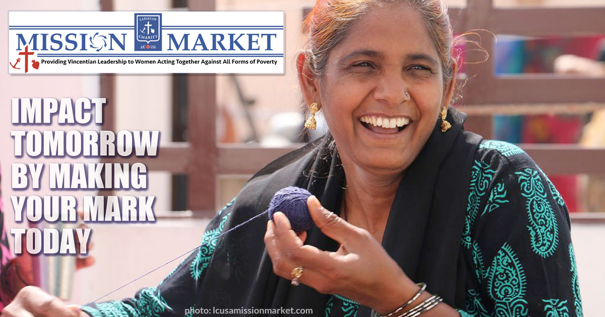 Ladies of Charity USA Mission Market Launches E-Commerce Website
