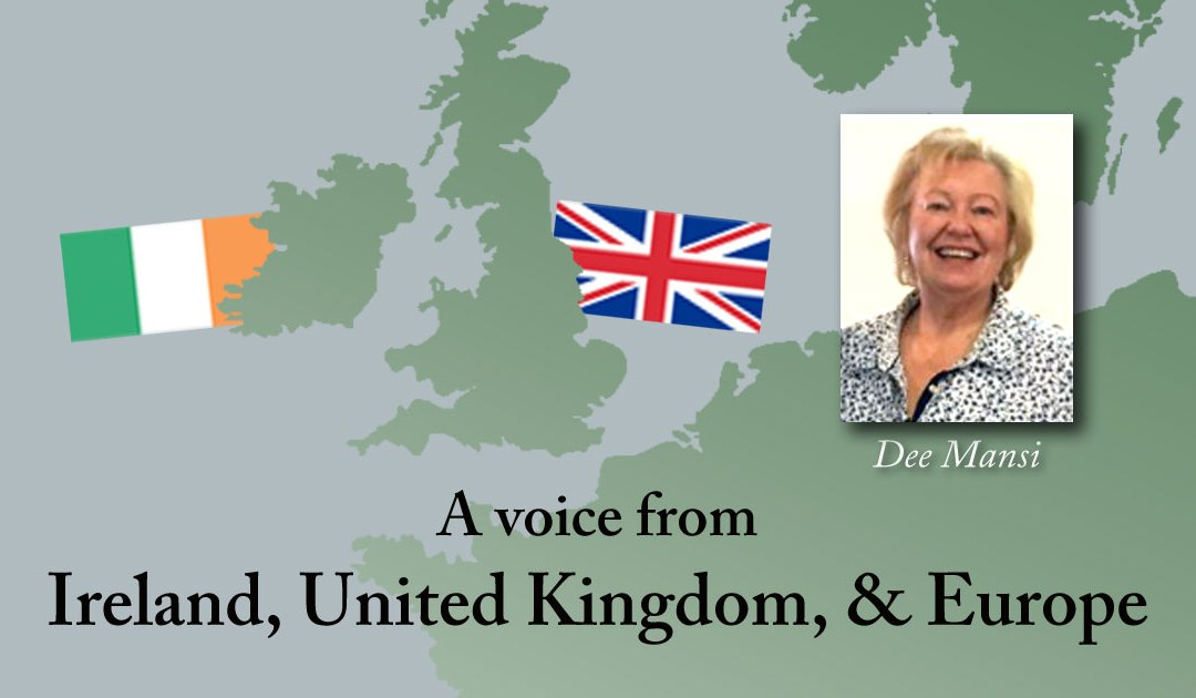A Voice From Ireland, UK & Europe: God Has No Country!