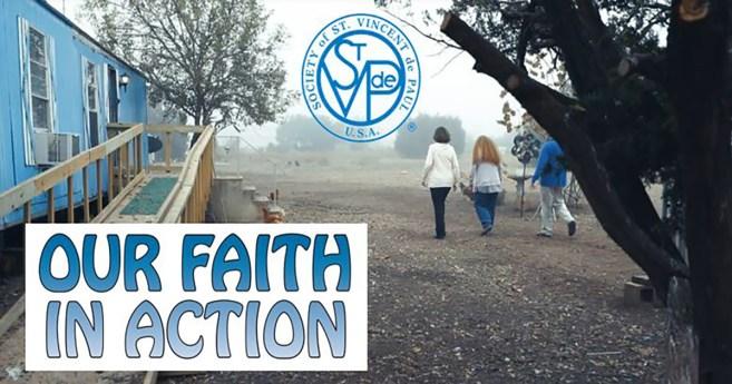 """""""Our Faith in Action"""" – A New SSVP Movie"""