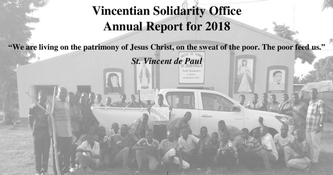 Vincentian Solidarity Office – Annual Report for 2018
