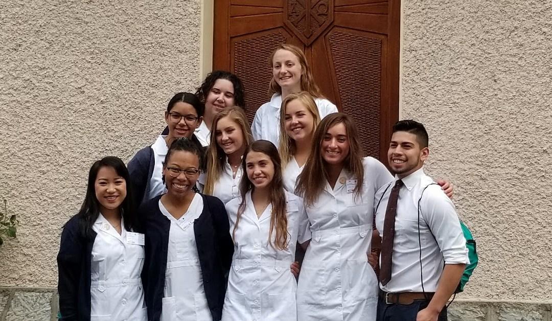 St. John's Students 13th Annual Lourdes Service Pilgrimage