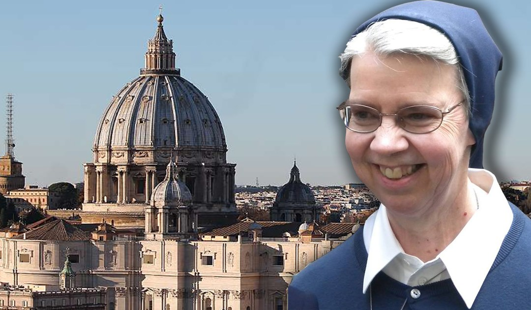 Sr. Kathleen Appler, Mother General of the Daughters of Charity, Named by Pope Francis as Member of Consecrated Life Congregation