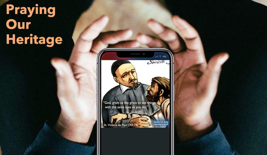 Vincentian Prayer Images: Trust