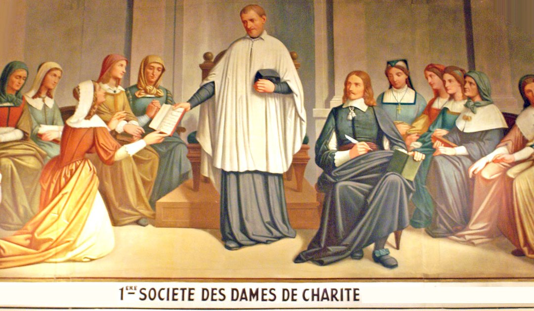 August 23: First Confraternity of Charity (Ladies of Charity)
