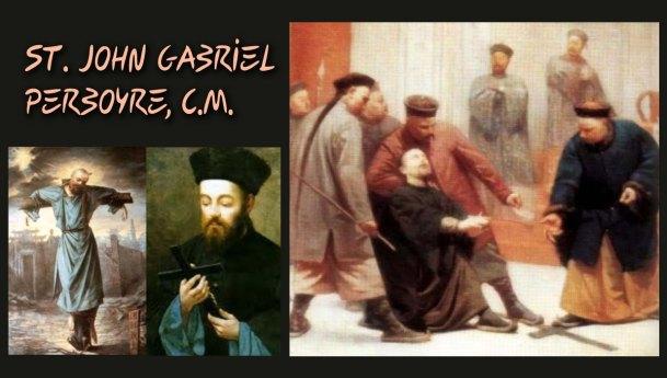 Feast of St. John Gabriel Perboyre, C.M.