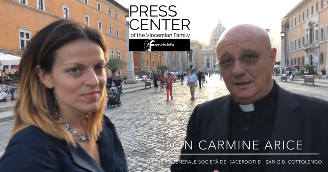 Interview With Father Carmine Arice, General Superior of the Cottolenghina Family and the Little House of Divine Providence