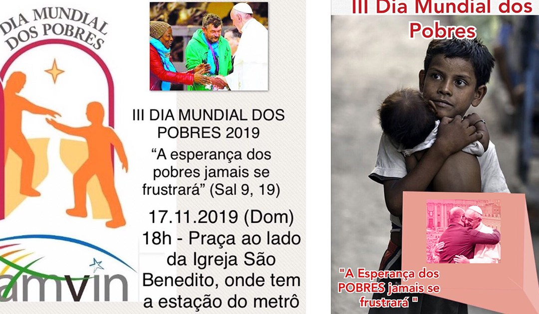 The Branches of the Vincentian Family of Fortaleza, Brazil, Celebrate the Day of the Poor Together