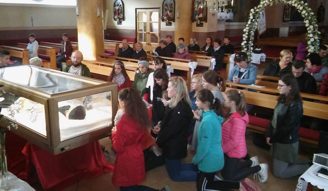 Pilgrimage of St. Vincent's Relics to Czech Republic