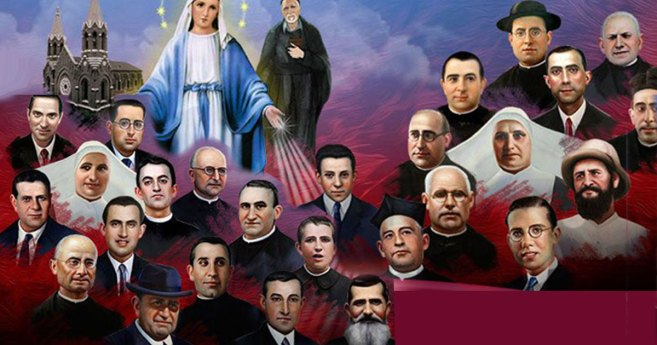 November 6: Vincentian Martyrs of the Spanish Civil War (CM, DC, AMM and Children of Mary (VMY))