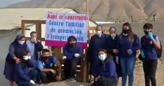 Members of the VMY and the Daughters of Charity Bring Hope to Copiapó (Chile)