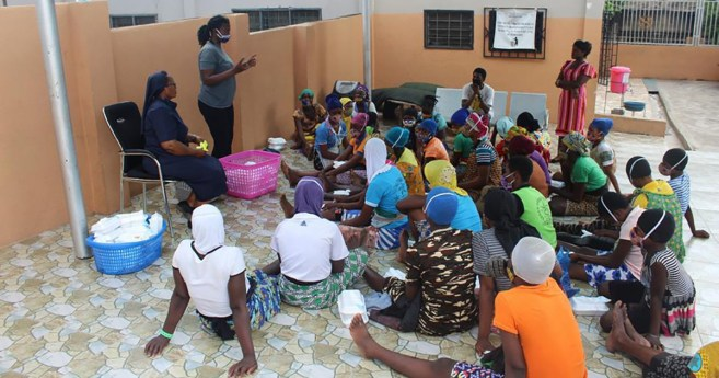 Ghana's Street Persons Targeted by Daughters of Charity for Pandemic Education