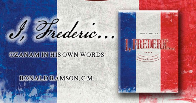 """I, Frederic"" – New Book on Frederic Ozanam"
