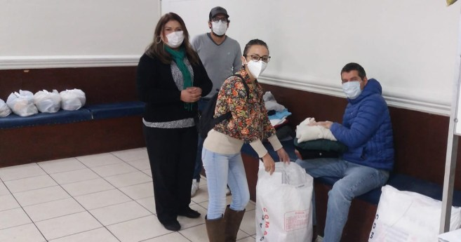 St. Vincent's Charitable Association Mobilizes During the Pandemic (Peru)