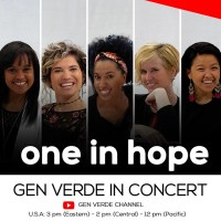 September 27: GEN VERDE IN CONCERT!!
