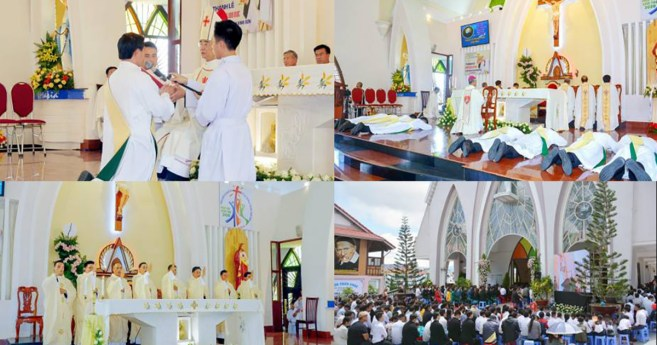 """To be with God and with the People of God"": the mission of the newly ordained priests in the Province of Vietnam"