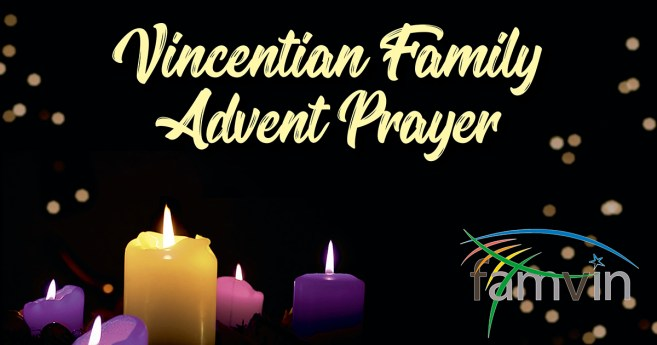 Relive the Advent Prayer experience of the Vincentian Family 2020