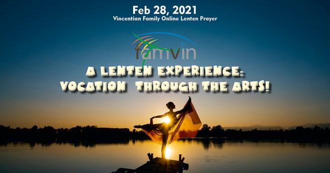 Relive the Lenten Prayer Celebration for the Vincentian Family, 2021