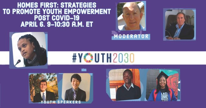 Video Recording of Vincentian Family/U.N. #Youth2030 Event