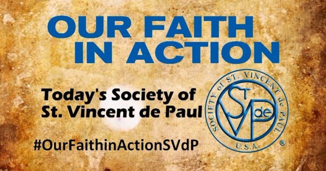 Society of St. Vincent de Paul shares Our Faith in Action in EWTN Special