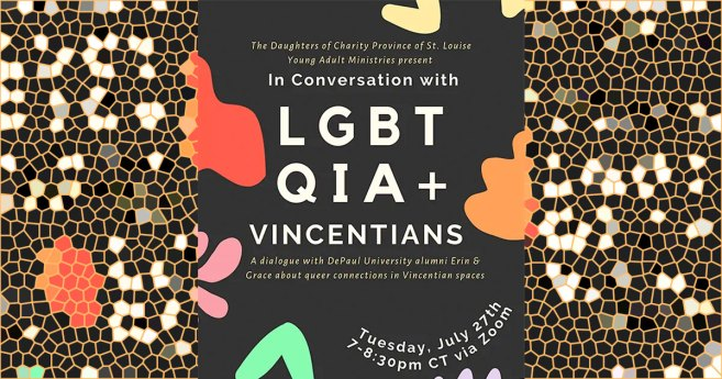 Young Adult Ministries Virtual Event: In Conversation With LGBTQIA+ Vincentians!