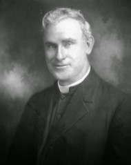 Father Thomas Augustine Judge, founder of the Missionary Servants of the Most Holy Trinity, is pictured in this 1924 photo. (CNS photo/courtesy Fuzati)