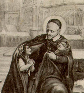 La historia de los pobres según san Vicente