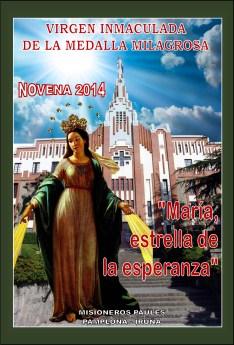 Novena a la Virgen Milagrosa 2014