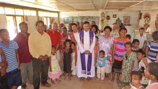 Breve reporte de la visita a la Misión Internacional en Papúa, Nueva Guinea