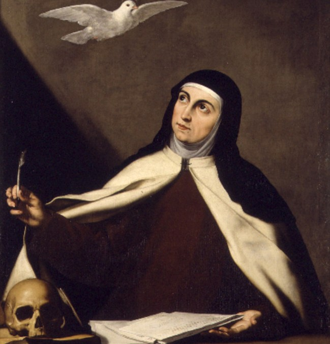 San Vicente de Paúl y Santa Teresa de Ávila