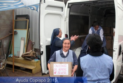 Video de ayudas a Copiapó por parte de las Hijas de la Caridad y REVIC