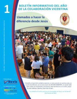 Boletín informativo REVIC nº 1 sobre el año de la colaboración vicentina