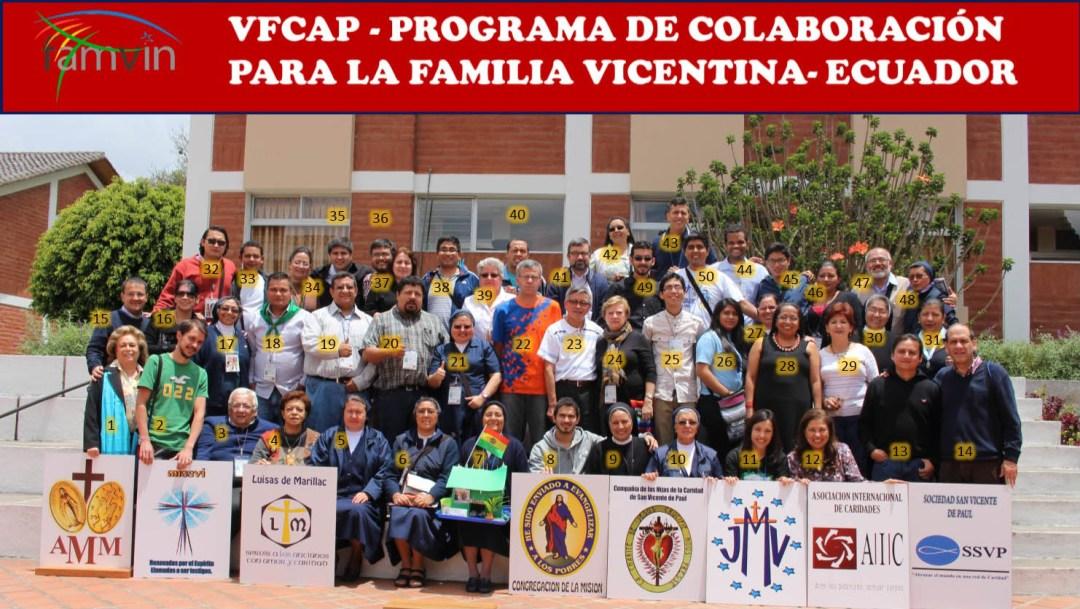 Crónica de la reunión de VFCAP en Quito (Ecuador)