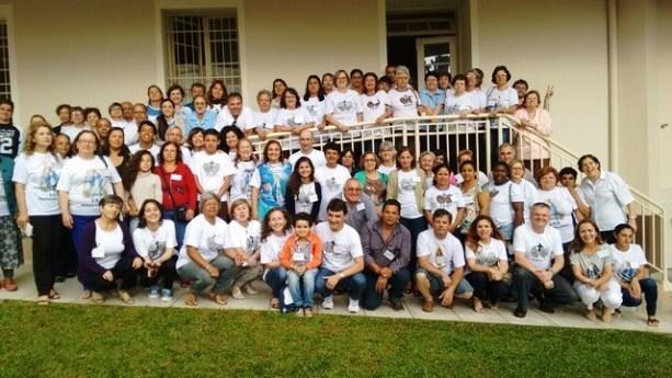 7ª concentración de la Asociación de la Medalla Milagrosa en la provincia de Curitiba, Paraná, Brasil