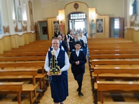 Nuestra Señora de Aparecida, peregrina entre la Familia Vicenciana de Brasil